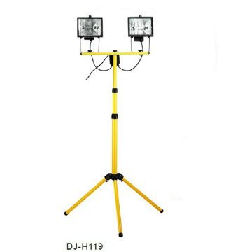 Waterproof Tripod Oval Halogen Stand Floodlight 2 500w