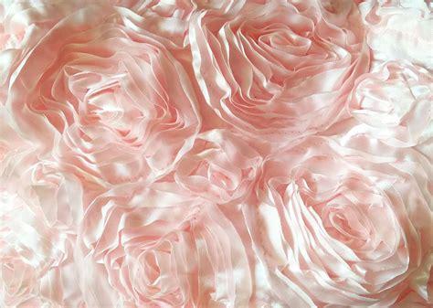 baby rosette 4 duo petal rent baby pink color rosette taffeta rectangular