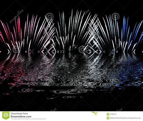 the color of water in july fireworks stock photo image 1236410