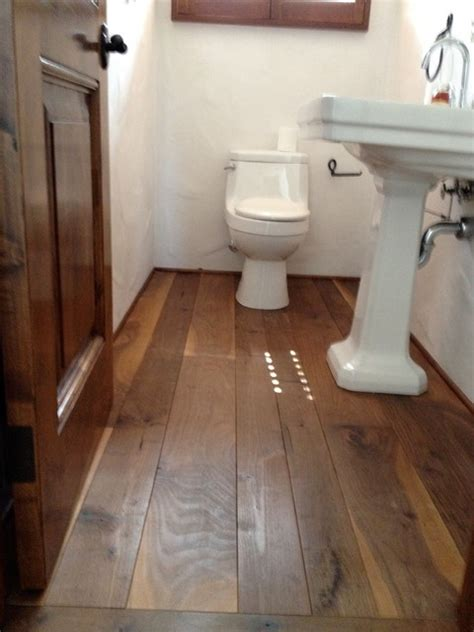 hardwood in bathroom impressive hardwood flooring for bathrooms custom wood