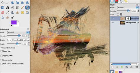 Tutorial Gimp Painting | making a watercolour paint photograph in gimp gimp