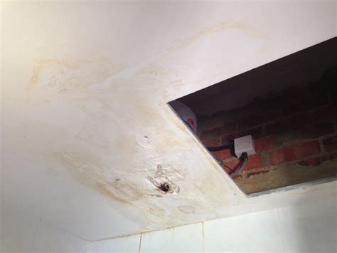 How To Repair Concrete Ceiling by Ceiling Leakage Ceiling Leak Repair Repair Of Spalling