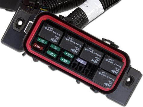universal core accessory wiring harnesses aem