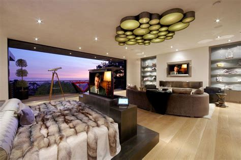 tv in bedroom 7 ideas for hiding a tv in a bedroom contemporist