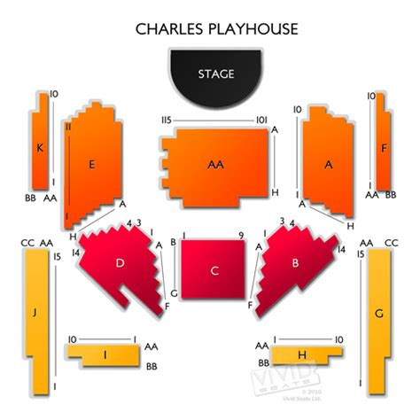 charles playhouse seating chart boston ma charles playhouse tickets charles playhouse information