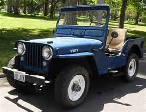 1949 Willys Jeep 1949 Willys Jeep Cj2a