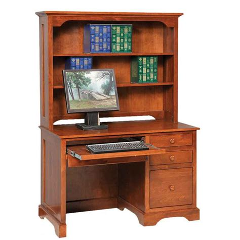 elegance economy computer desk amish crafted furniture