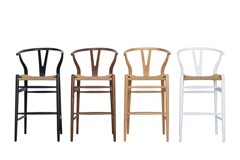 Wishbone Chair Bar Stool by Wishbone Counter Stool Black Abide Interiors