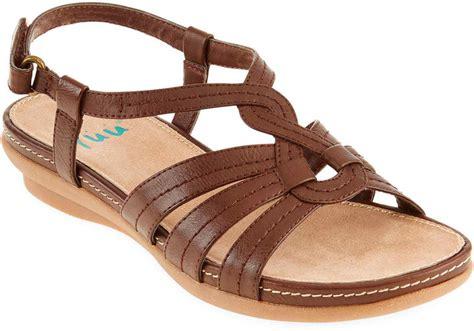 jcpenny sandals jcpenney yuu yuu alottie slingback sandals shopstyle