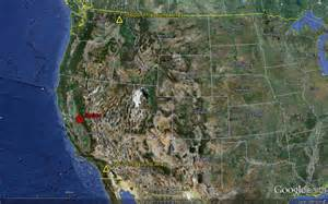 california map earth nasa fireball california nevada how big was it