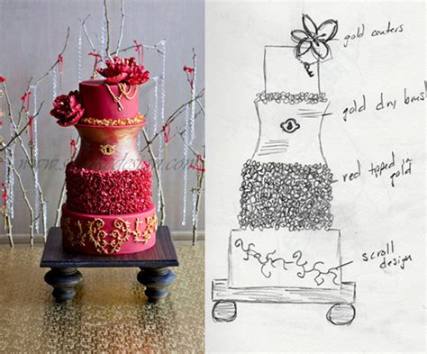 Reier Brains The Business Of Cake Couture In The City by How To Design Cakes Part 1 Kara S Couture Cakes