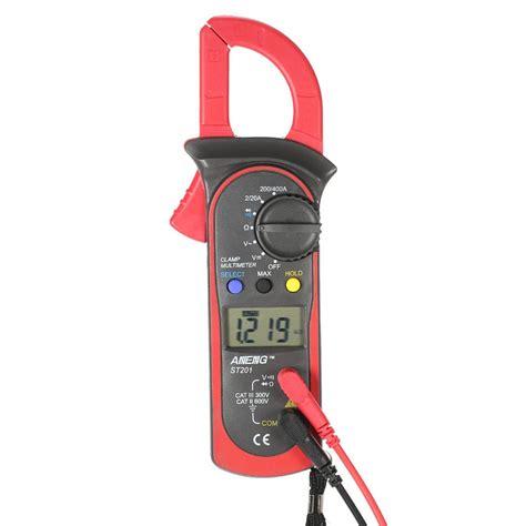 handheld digital lcd display clamp meter multimeter acdc voltage ac current resistance diode