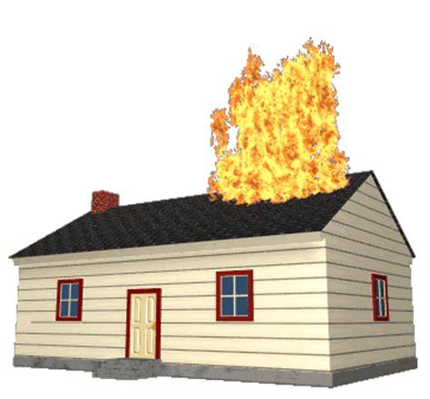 house on fire gif تصاویر متحرک چهارشنبه سوری