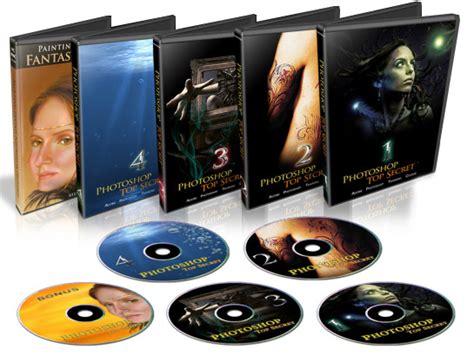 Dvd Belajar Photoshop Advance Lynda photoshop top secret 5dvd ukarobit s