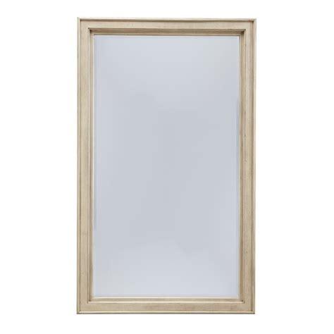 Mirror Floor L by Demarlos Floor Mirror In Parchment B693 07