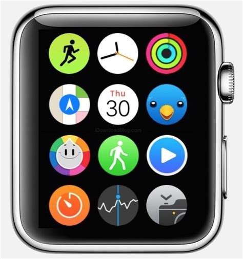 change app layout on iwatch the apple watch home screen is a beautiful mess