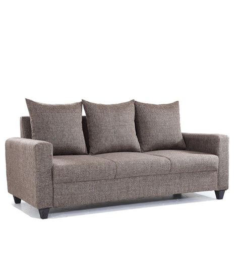 5 Seat Sectional Sofa Five Seater Sofa Bongo Modular Five Seater Sofa In Chestnut Brown Colour By Thesofa
