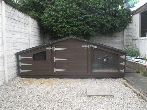 Handmade Rabbit Hutches For Sale - large single rabbit hutch 9x3xft by boyle s pet