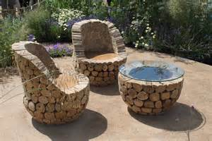 Garden Furniture Table Diy Outdoor Table Ideas For Garden Improvement