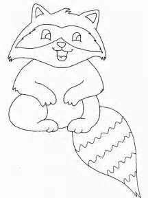 what color are raccoons free printable raccoon coloring pages for