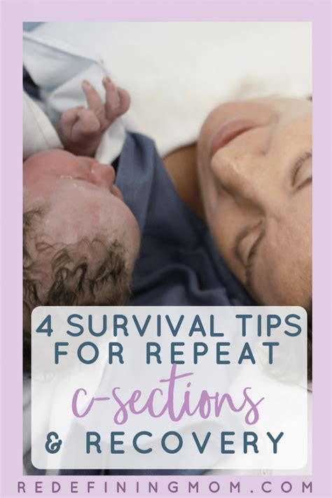 Preparing For A Repeat C Section And Recovery Tips From