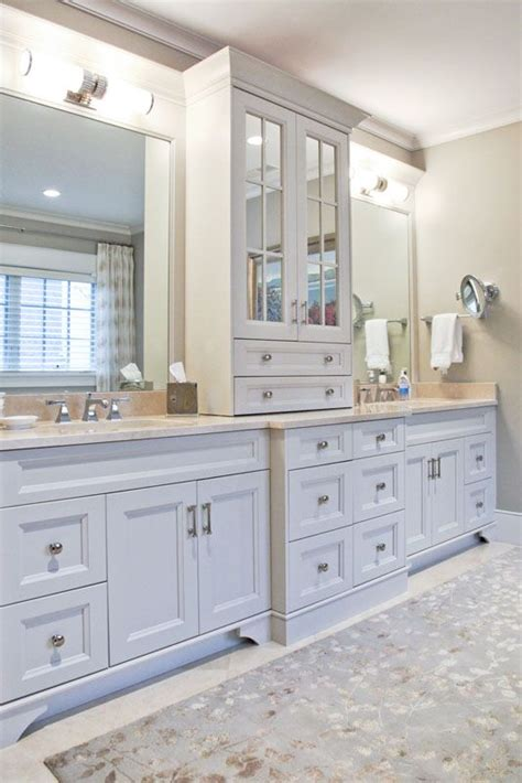 master bathroom cabinet ideas 22 best master bathroom center cabinets images on