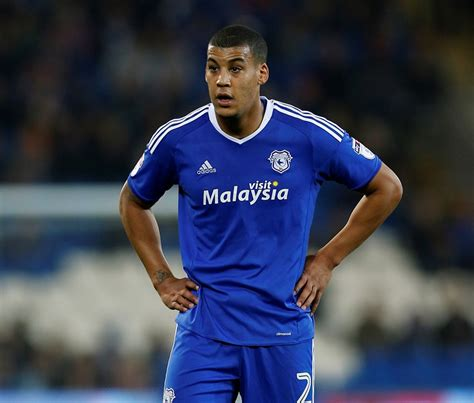 football firsts cardiff city defender lee peltier the