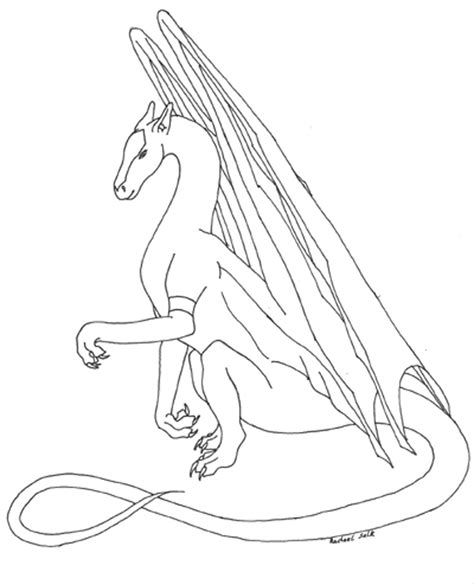 free coloring pages of dragons for adults