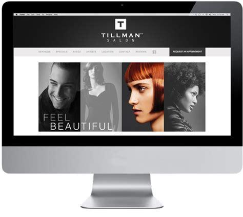 Hair Dresser Website by Tillman Salon Website Im Marketing An Aveda Partner