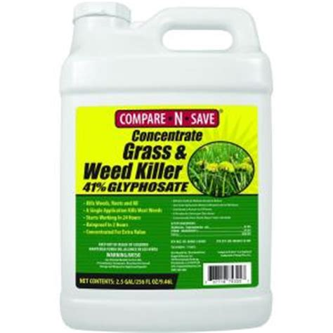 compare n save 2 5 gal grass and killer glyphosate