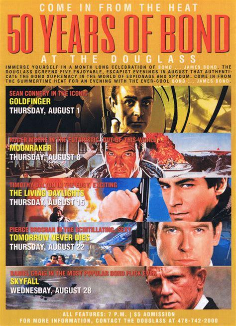 film james bond series film series celebrates 50 years of james bond knight