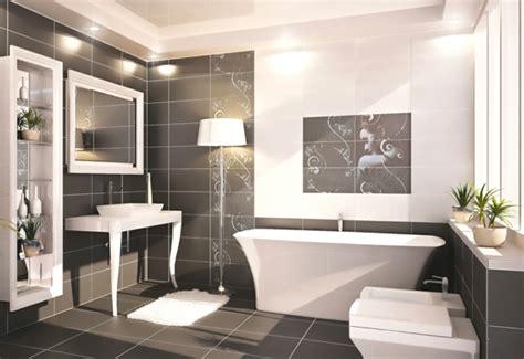 moderne badezimmer fliesen schwarz badezimmerfliesen f 252 r ein perfektes badezimmer
