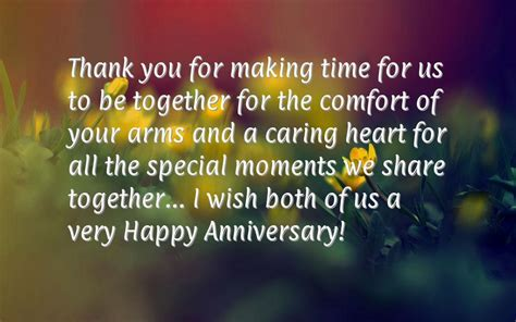 Wedding Anniversary Wishes Thank You by Wedding Anniversary Wishes Thank You For Time For