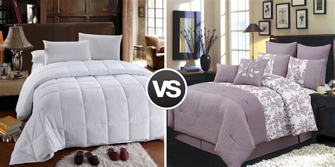 Size Difference Between And King Comforter by Duvet Vs Comforter Understand Decide Wholesale Beddings