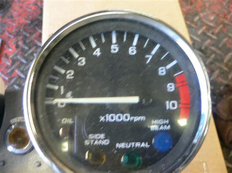 92 honda nighthawk 750 92 honda cb 750 nighthawk instrument cluster gauges