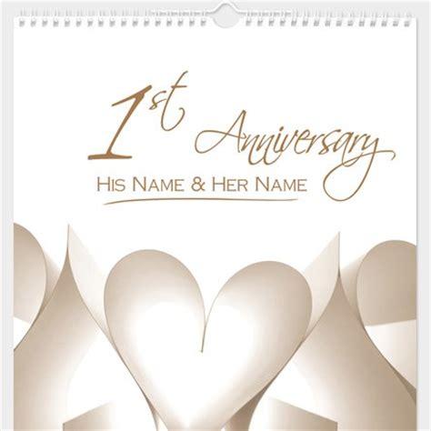1st Wedding Anniversary by 1st Wedding Anniversary Gifts Gettingpersonal Co Uk