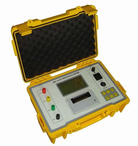 dc resistance meter
