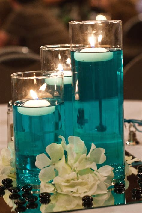 wedding centrepieces with floating candles figuring out simple diy wedding centerpieces