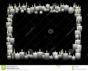 Candle Frame Horizontal Candle Frame Royalty Free Stock Images Image