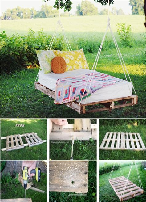 hanging pallet bed diy hanging bed ss hanging swing bed ana white swing bed