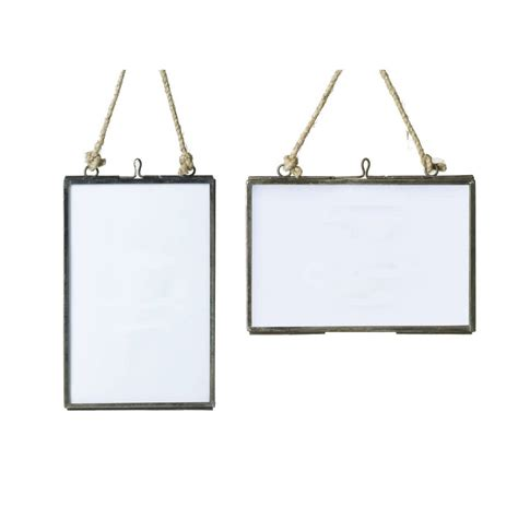 how to hang picture frames that have no hooks glass hanging frame by all things brighton beautiful