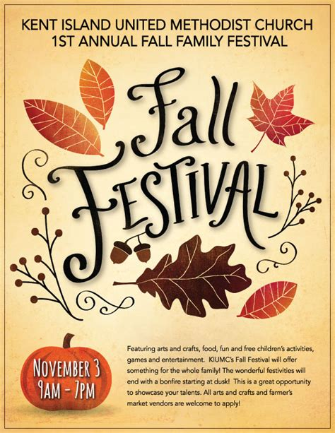 fall festival flyer template jimondo fall festival flyer