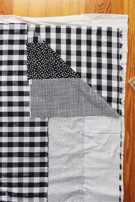 Diy Patchwork Quilt - easy patchwork quilt diy a beautiful mess