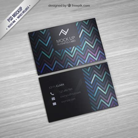 card 5 psd template 25 professional business card free psd templates