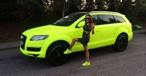 Autofolierung Auf Raten by Neon Yellow Car And Shoes Cars Cars
