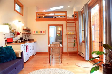 tiny house vacations the pocket house tiny house vacation in portland