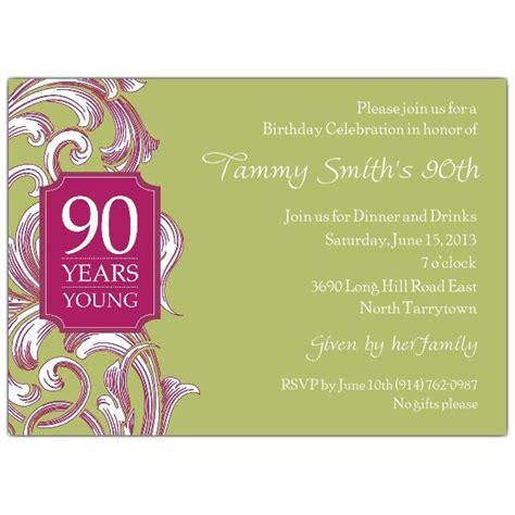 90th birthday invitation template 90 birthday invitations invitations 90th birthday