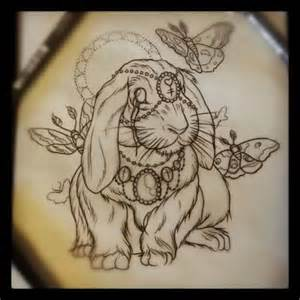 Frank The Bunny Outline by 17 Best Ideas About Bunny Tattoos On White Rabbit Tiny Tattoos For And