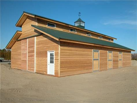 barn roof types monitor style post frame horse barn mid size horse barns