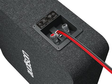Basskiste Auto by Audison Flache Basskiste Subwoofer Apbx 8 Ds 200mm